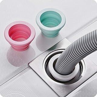 Random color Sewer Pipe Pest Control Anti-odor Deodorant Silicone Gel Seal Ring Washing Machine Pool Floor Drain Plug,Sturdy