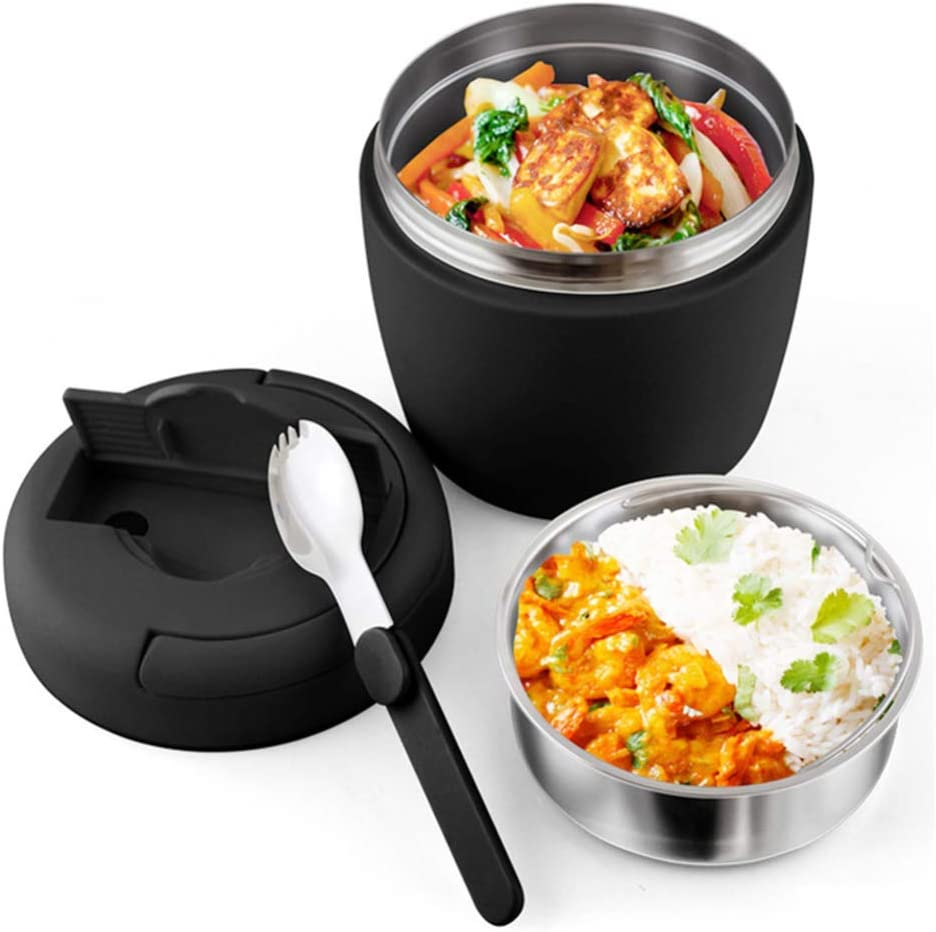 Food Flask For Hot Soup New Orleans Mall Stainless Insulated Cheap mail order specialty store Vacuum Steel