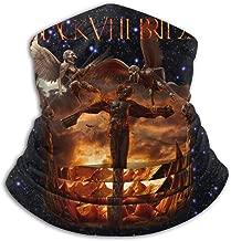 GloriaNguyen Black Veil Brides Vale Seamless Face Mask Bandanas for Dust, Outdoors, Festivals, Sports