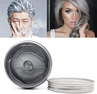 MQ Temporary Hair Color Wax, 8 Colors Professional DIY One Time Hair Wax Dye Styling Cream Mud, Washable Hair Paint Wax Fo...