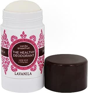Lavanila, Deodorant Stick Vanilla Grapefruit, 2 Ounce