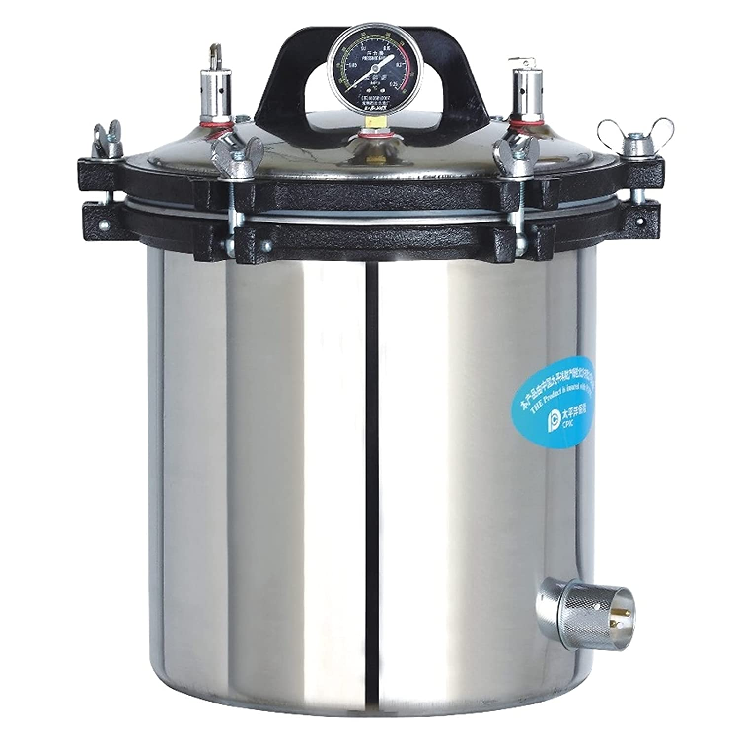18L Portable Stainless Steel Steam Pressure In a popularity OFFicial store Sterilizer Autoclave