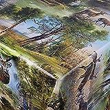 Wachstuch Wachstischdecke Tischdecke Gartentischdecke Größe wählbar Jagd Wild Eckig 120 x 130 cm abwaschbar