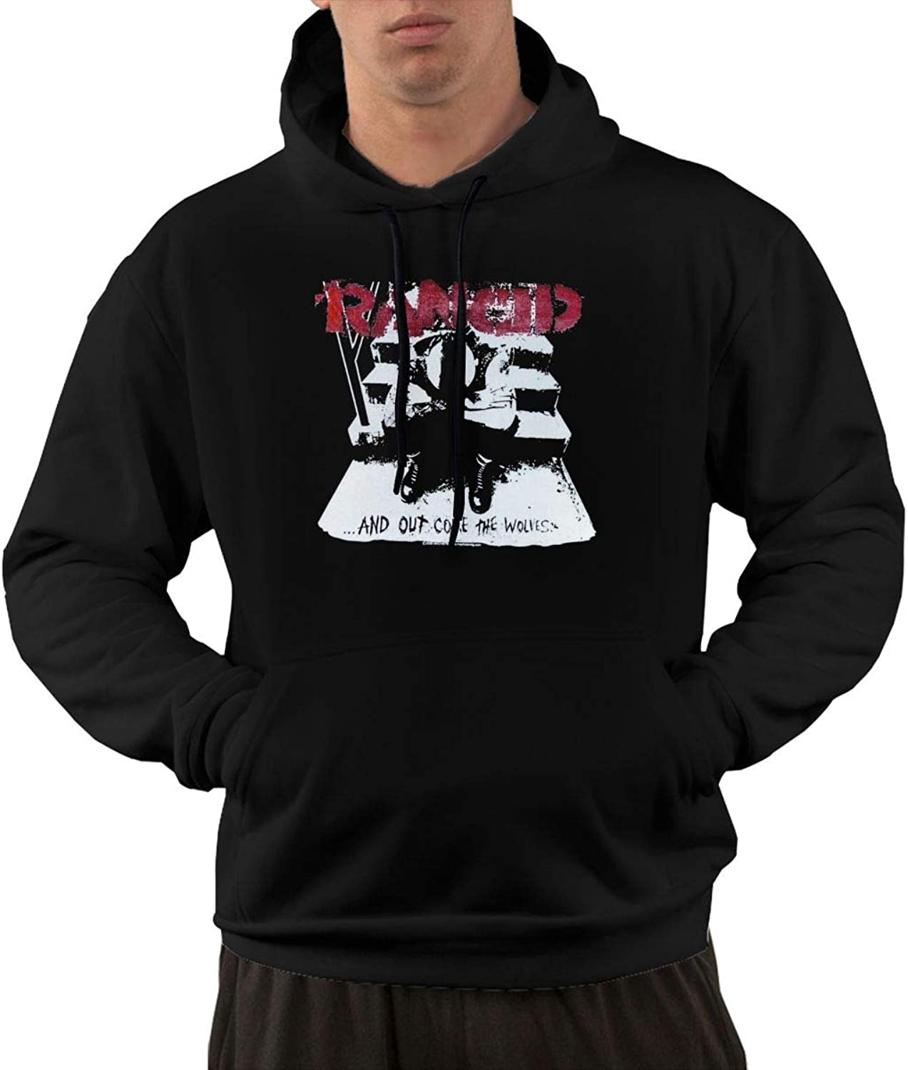 602cc132b AlbertV Mens Rancid And Out Come The Wolves Wolves Wolves Hoodies ...