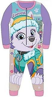 ---- Pyjama PAW Patrol Schlafanzug Overall Strampler 80 86 92 98 104 110 Fleece Lila