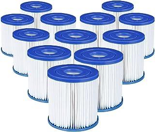 Bestway 58093 - Filtros de cartucho,12piezas de tamaño 1