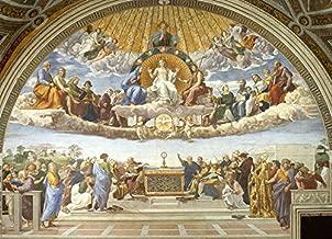 Disputation of Holy Sacrament by Raphael - 21
