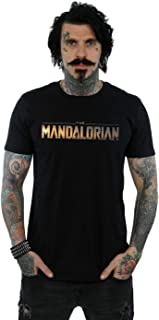 Star Wars Men's The Mandalorian Series Logo T-Shirt
