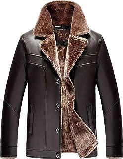 Dettagli su Affari PU Cappotto di Pelliccia Collo in Piedi Vestibilità Slim Giacca di Pelle