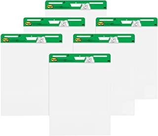 Post-it Super Sticky Easel Pad, 25 x 30 Inches, 30 Sheets/Pad, 6 Pads (559RP-VAD6), Large White Recycled Premium Self Stic...