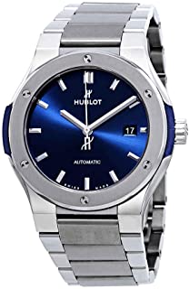 Hublot - Classic Fusion reloj automático con esfera azul para hombre 548.NX.7170.NX