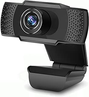 Computer Camera, Webcam with Microphone for Computer, 1080P HD Webcam Streaming Computer Web Camera -USB Computer Camera for PC Laptop Desktop Video Calling