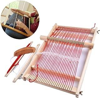 cary-yan Loom Weaving Loom Loom Kit-Weaving Loom Kit Boys Hand - Woven DIY Suit Wooden Multifunctional Loom Supple