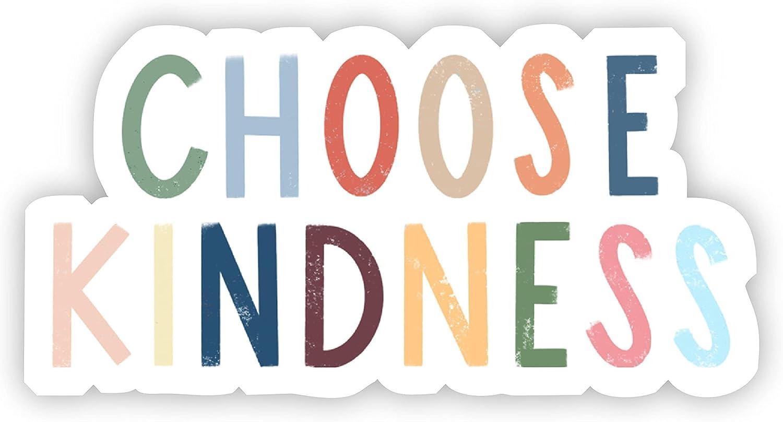Choose Kindness Overseas parallel Phoenix Mall import regular item Multicolor Lettering S Vinyl Sticker Decorative