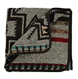 RUTH&BOAZ Outdoor Wool Blend Blanket Ethnic Inka Pattern(P) (A, Normal)