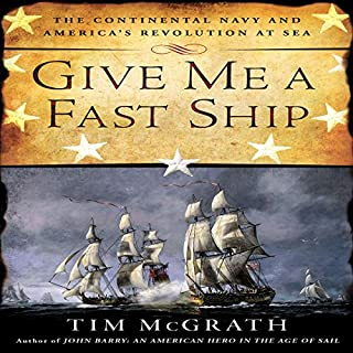 Give Me a Fast Ship audiobook cover art