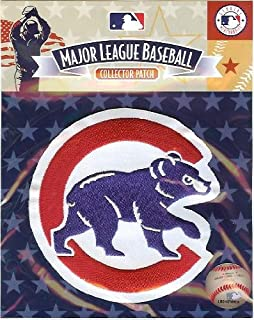 chicago cubs walking bear patch