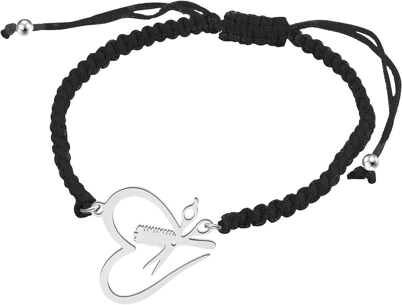 SEIRAA Hair Stylist Gift Hair Stylist Adjustable Handmade Bracel
