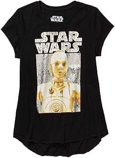 Star Wars The Force Awakens Girls' Graphic Tee Shirt
