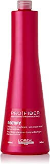LOreal Paris Pro Fiber Rectify Shampoo by LOreal Professional for Unisex - 34 oz Shampoo, 1000 ml