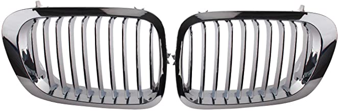 Heart Horse Front Kidney Grill Fit 1999-2001 BMW 3 Series E46 M3 323 i/is 325Ci 328 i/is/Ci 330Ci 2 Doors Grilles