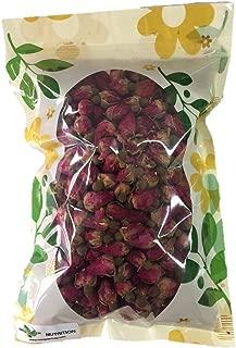 HerbsGreen Premium Dried Red Rose Buds, 100% Natural, Food Grade Herbal Tea (4 oz. Bag)