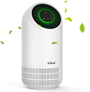 Afloia Air Purifier,Portable Air Purifier for Home, Air Cleaner with True HEPA Filters, 3 Fan Speed Whisper Quiet Air Clea...