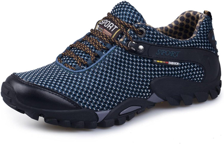 DSFGHE Sports skor stor stor stor Storlek (38 -45) Mans skor Autumn ny Casual skor Comfortable Andable No -Slip Vandringaa utomhus Hiking skor Sports skor män  stora rabattpriser