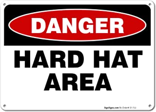Best hard hat area sign Reviews