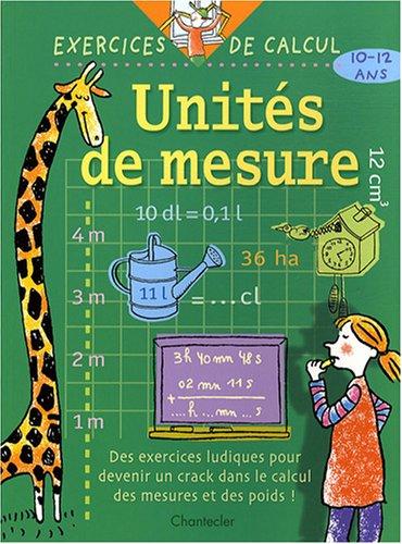 Unites de mesure