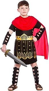 Roman Commander Muchachos Traje de Fantasía Guerrero ...