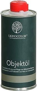 Lignocolor Objektöl 250 ml, Natur, Holzschutz natürliches Holzöl für den Innenbereich