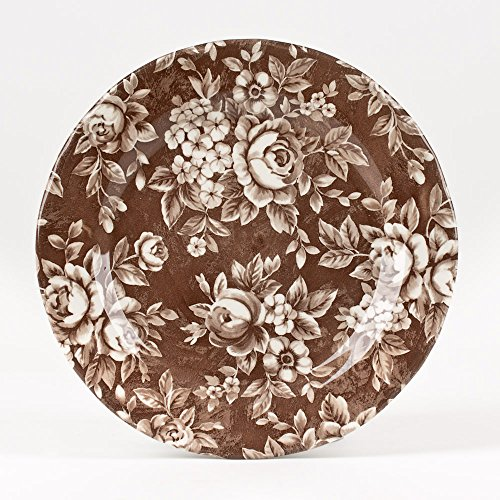 Table Passion - Assiette à dessert splendor canelle 20.5cm (lot de 6)