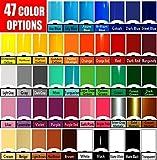 Vinyl Rolls (Oracal 651) Choose your colors 47 options (Cricut, Silhouette Cameo, Crafting Vinyl) (10 Rolls)