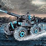 S1F2 Remote Control Stunt Tank Toy Car RC Stunt Toy Car Stunt Off-Road