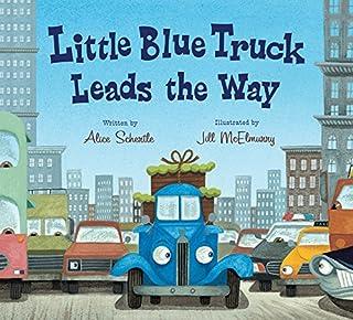 Little Blue Truck Leads the Way board book