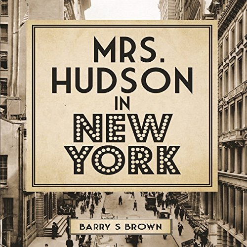 Mrs. Hudson in New York audiobook cover art