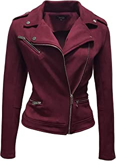 Best faux suede biker jacket pink Reviews