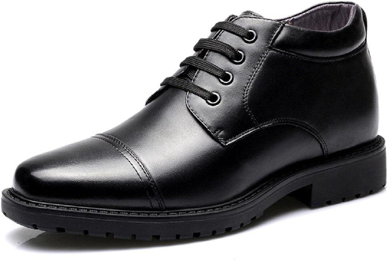 Herren Winter Lederschuhe Geschft Formelle Kleidung Plus Kaschmir Warm halten Schneestiefel Flache Schuhe Werkzeug Schuhe Baumwollschuhe EUR GRSSE 38-44