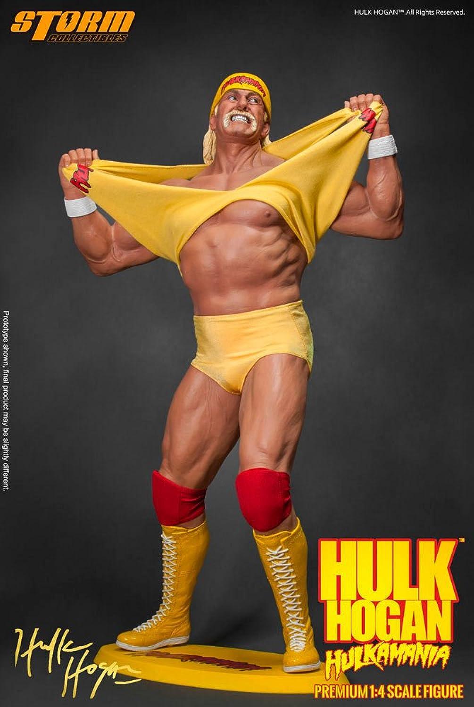 Sin impuestos WWE Wrestling Statue 1 4 Hulk Hogan Hogan Hogan Hulkamania 49 cm Storm Collectibles  varios tamaños