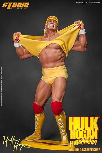 grandes ofertas WWE Wrestling Wrestling Wrestling Statue 1 4 Hulk Hogan Hulkamania 49 cm Storm Collectibles  barato en alta calidad