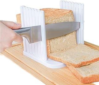 Trancheuse à pain réglable pour pain / rôti / pain - Machine à sandwich et toast - Épaisseurs réglables