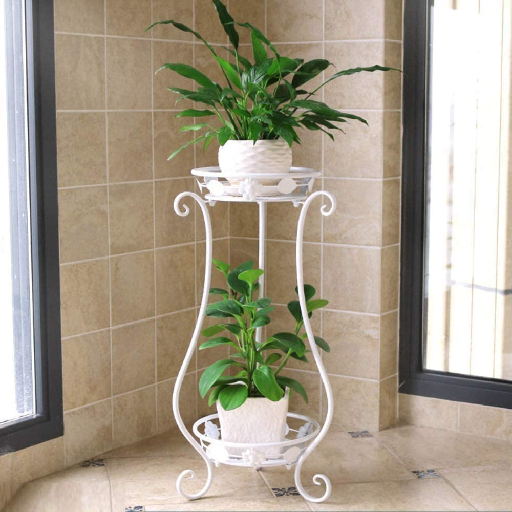 New mail order Dime Store Plant Stand Flower Pot Room for Living Balcony National uniform free shipping