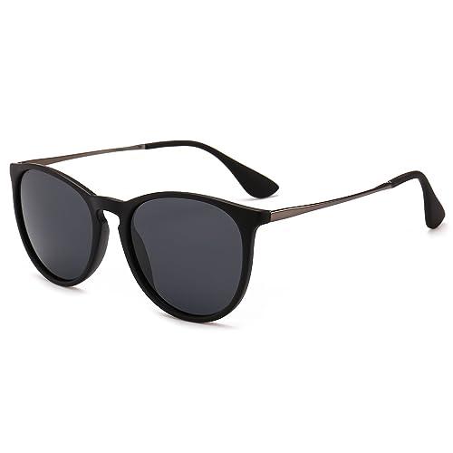 3aedaf8d370 SUNGAIT Vintage Round Sunglasses for Women Classic Retro Designer Style