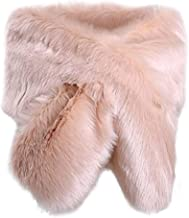 Best blush pink fur shawl Reviews