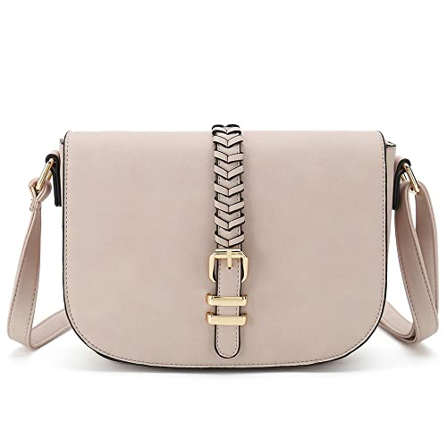 Casual Small Crossbody Saddle Bags for Women Shoulder Purse Designer  Handbags 55d6f77ebc9b5