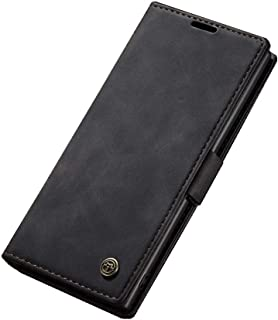 Flip Leather Case For Samsung Galaxy Note 10 Plus From CaseMe - Black