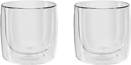Jogo com 2 Copos para Whisky, Vidro de Parede Dupla, Transparente, 266 ml, ZWILLING Sorrento