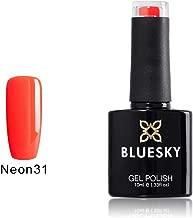 Bluesky UV/LED Gel Soak Off Nail Polish, Neon 31, Vampire Bite, 10 ml (Requires Curing Under UV/LED)