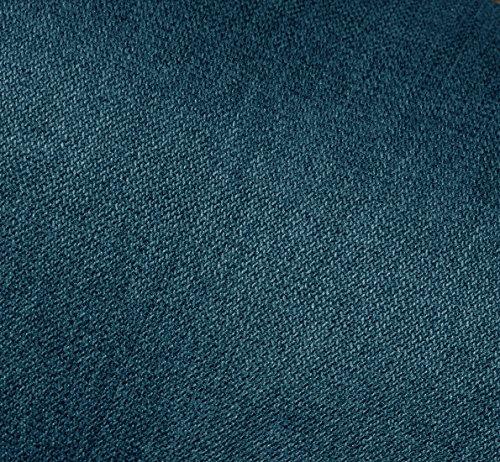 セルタン日本製ポケットコイルハイバックソファー和楽の浅葱一人掛けタスクネイビー背部リクライニングA327p-584NVY